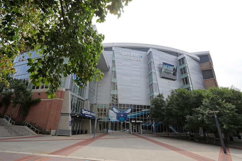 The Spectrum Center in Charlotte, North Carolina, is scheduled to hold the Republican National Convention in August. (Photo: ASSOCIATED PRESS)