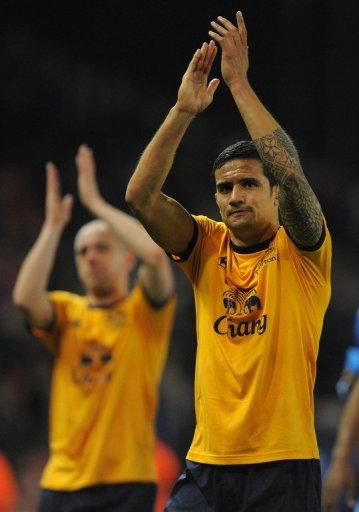 Everton midfield dynamo Tim Cahill has proved a thorn for Japan in past encounters