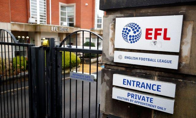 The EFL joined the Premier League and FA in welcoming the interim findings of the fan-led review