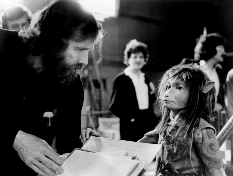 Jim Henson on the set of the 1982 film 'The Dark Crystal' (Photo: Universal Pictures/courtesy Everett Collection)