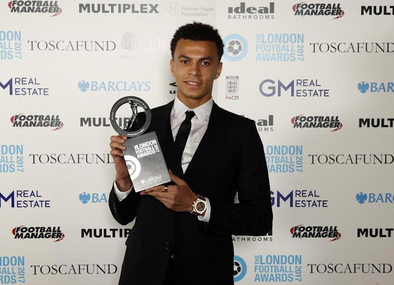 Dele Alli: Crowned Young Player of the Year at London Football Awards (Action Images via Reuters)