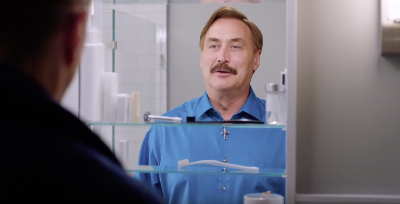 Mike Lindell, the Founder and CEO of MyPillow, stars in one of the brand's famous infomercials.
