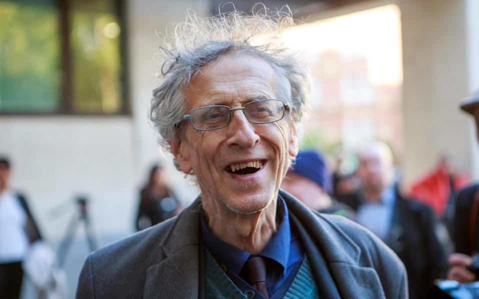 Piers Corbyn, brother of Jeremy Corbyn, faces trial at Westminster Magistrates Court following a series of anti-lockdown protests which he attended. - Jamie Lorriman