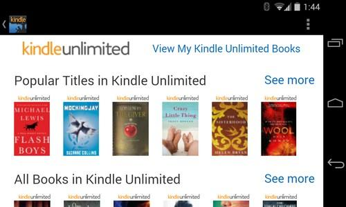Kindle Unlimited screenshot