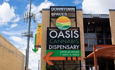 Oasis Cannabis Dispensary (CNW Group/CLS Holdings USA Inc)