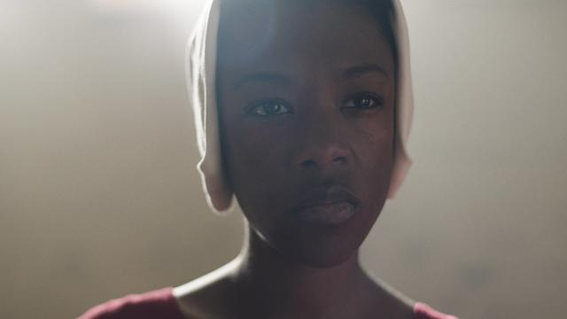 "Samira Wiley in ""The Handmaid's Tale"" Season 1."