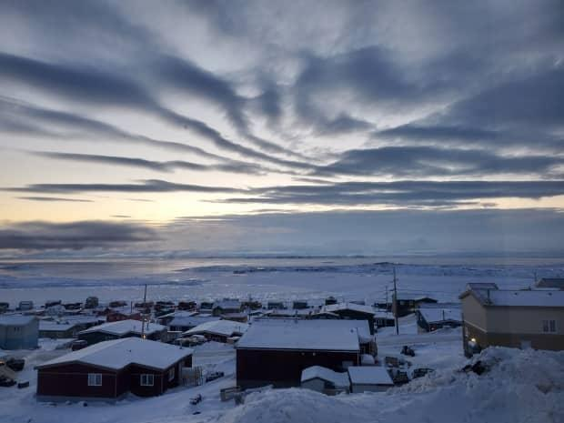 The capital city of Nunavut now has 76 active cases of COVID-19. (Submitted by Cindy Leishman - image credit)
