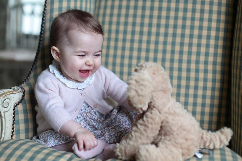 Princess Charlotte in 2015 (HRH The Duchess of Cambridge )
