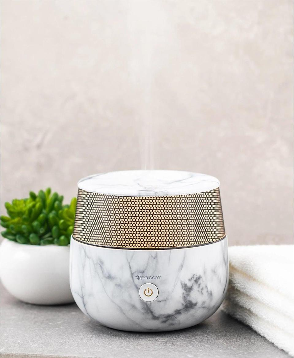 <p>Give your space a relaxing feel with this <span>SpaRoom Mysto Marble Ultrasonic Diffuser</span> ($67) that doubles as decor. It delivers up to five continuous hours of soothing scent through ultrasonic technology.</p>
