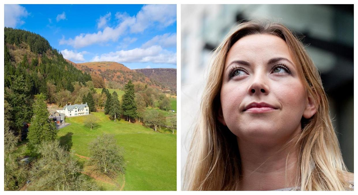 Charlotte Church has bought Rhydoldog House in Wales (SWNS)