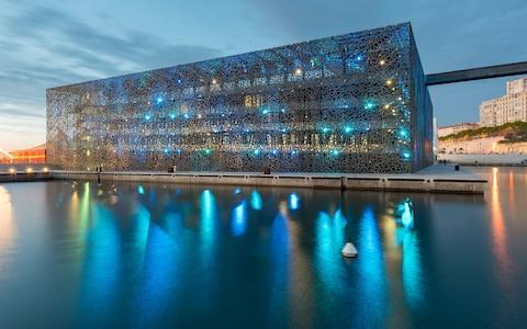 The MuCEM museum in Marseilles - Credit: Getty