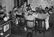 """<p>In accordance with the Julian calendar, Christmas in Ukraine falls on January 7. Families sit down for <span class=""""redactor-unlink"""">12-course meal</span> on Christmas Eve, which begins when the youngest of the family sees the evening star. <a href=""""https://www.housebeautiful.com/entertaining/holidays-celebrations/g790/holiday-place-settings/"""" rel=""""nofollow noopener"""" target=""""_blank"""" data-ylk=""""slk:Each course"""" class=""""link rapid-noclick-resp"""">Each course</a> represents Jesus's 12 disciples. <br></p>"""