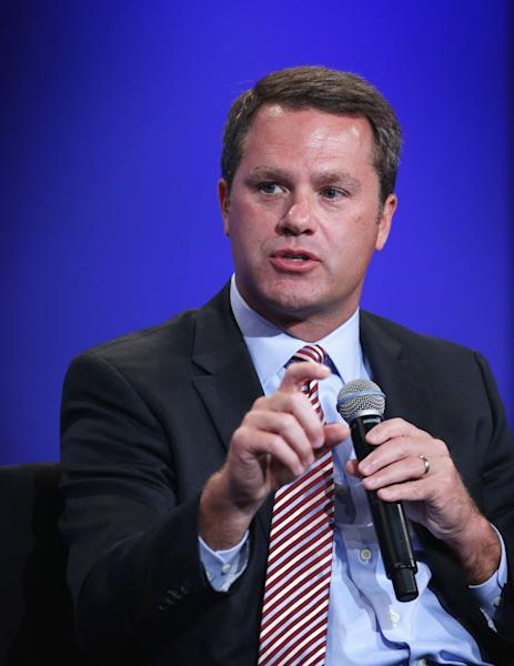 President and CEO of Wal-Mart Doug McMillon attends the US-Africa Business Forum on August 5, 2014 in Washington, DC (AFP Photo/Alex Wong)
