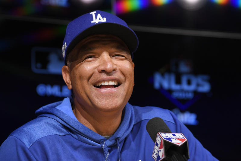 Dodgers Announce Position Starters for NLDS Game 1