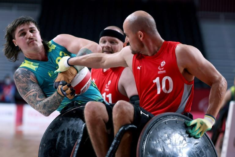 The rough and tumble sport of wheelchair rugby was originally known as murderball