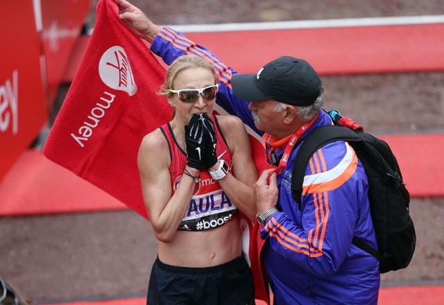 Paula Radcliffe claimed she would retire after the 2015 London Marathon (David Davies/PA)