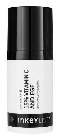 """<h3>The Inkey List 15% Vitamin C + EGF Serum</h3><br>While I love a <a href=""""https://www.refinery29.com/en-us/vitamin-c-for-skin"""" rel=""""nofollow noopener"""" target=""""_blank"""" data-ylk=""""slk:vitamin C serum"""" class=""""link rapid-noclick-resp"""">vitamin C serum</a> — my skin tolerates them pretty well, and I obviously want the crystal-clear glow that follows — this stuff was too strong for me. Yes, it left my face looking brighter, but also feeling somewhat uncomfortable, tight, and in desperate need of a very heavy moisturizer. The texture is on the tacky side, which is normal for a vitamin C serum, but it takes a good 10 minutes to lose its stickiness... and I'm not super patient.<br><br><strong>The Inkey List</strong> 15% Vitamin C + EGF Serum, $, available at <a href=""""https://go.skimresources.com/?id=30283X879131&url=https%3A%2F%2Fwww.sephora.com%2Fproduct%2Fthe-inkey-list-15-vitamin-c-egf-brightening-serum-P455368"""" rel=""""nofollow noopener"""" target=""""_blank"""" data-ylk=""""slk:Sephora"""" class=""""link rapid-noclick-resp"""">Sephora</a>"""