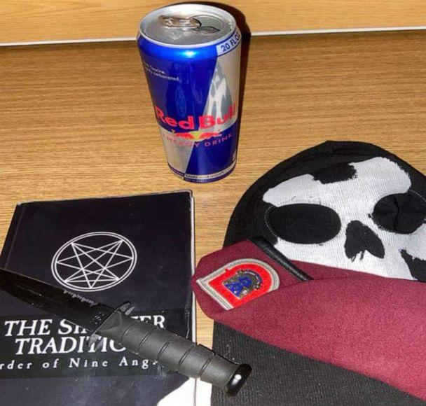 PHOTO: A photo included in a criminal complaint filed by the U.S. Attorney's office in New York is said by investigators to have come from the photo library of accused conspirator Ethan Melzer and appears to show neo-Nazi materials. (U.S. Attorney's Office)