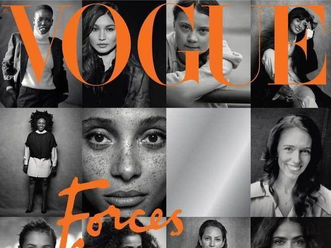 Meghan guest-edited an issue of British Vogue. (British Vogue/Peter Lindbergh)