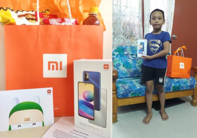 Following the incident, Xiaomi Malaysia has approached the family of Suryani Abd Ghani to provide the boy with a brand new phone to aid him with his online studies. — SoyaCincau pic