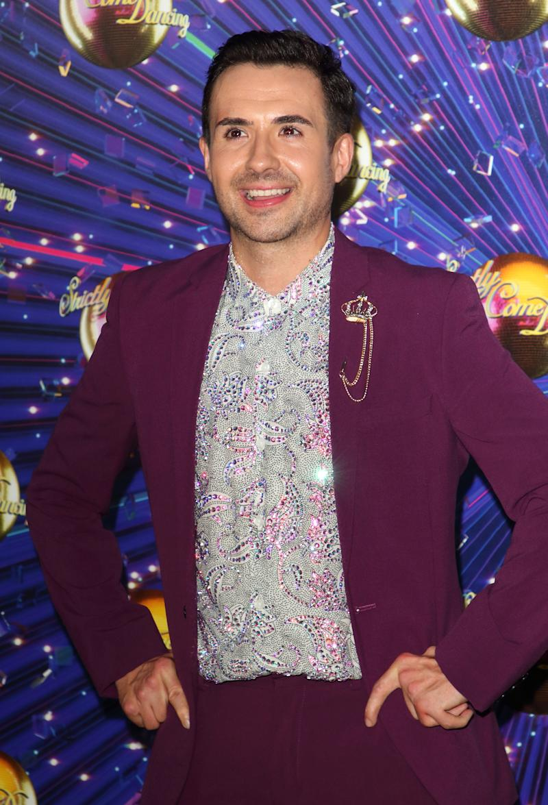 Will Bayley at the Strictly Come Dancing Launch at BBC Broadcasting House in London. (Photo by Keith Mayhew / SOPA Images/Sipa USA)