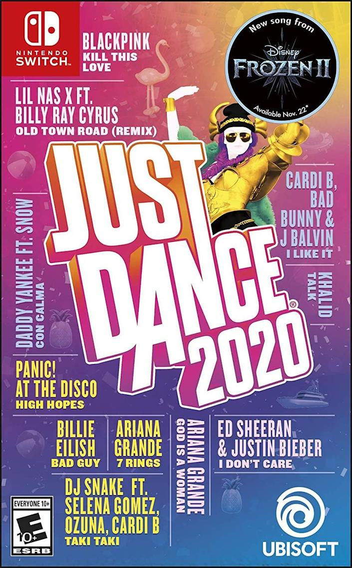 <p>The Just Dance series has been around forever. But with <span>Ubisoft Just Dance 2020</span> ($30, originally $40), you can now get the full experience on the Nintendo Switch. And yes, it's just as much fun as you'd think it might be.</p>