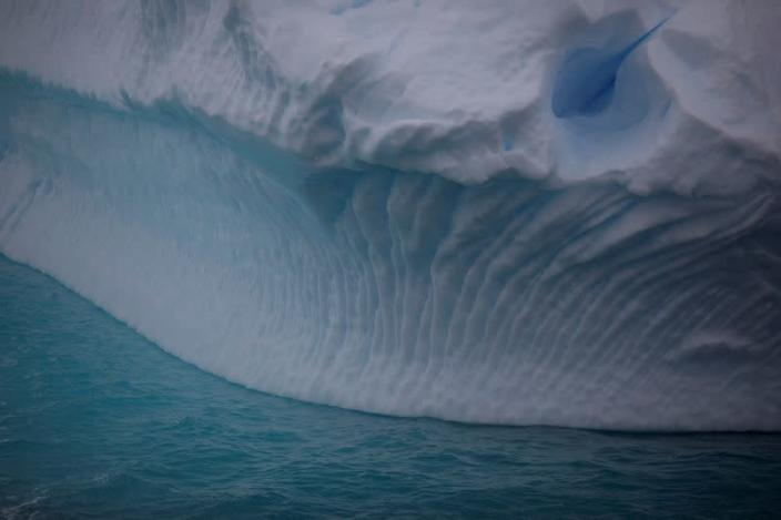 FILE PHOTO: An iceberg floats near Lemaire Channel, Antarctica