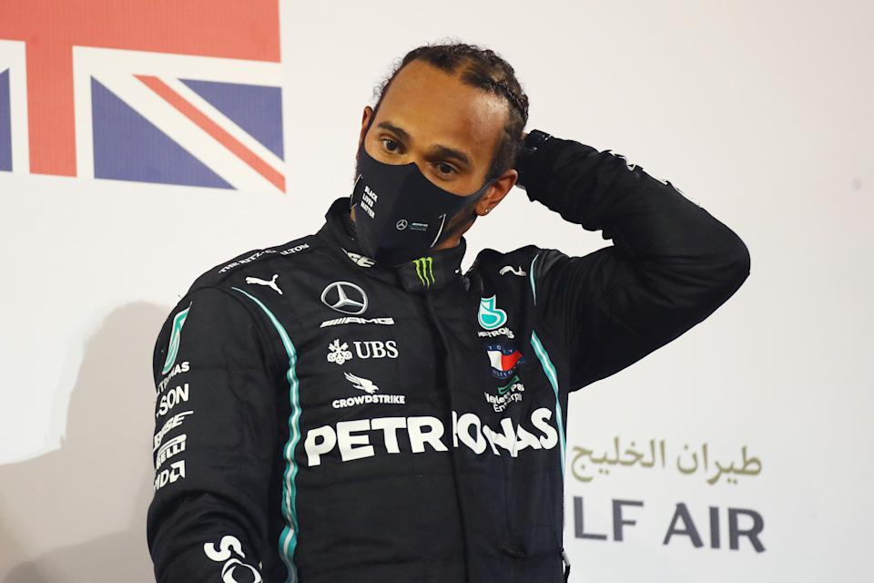 Lewis Hamilton has tested positive for coronavirus and will miss the Sakhir Grand Prix (Getty)