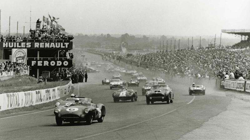 Aston Martin 1959 24 Hours Of Le Mans