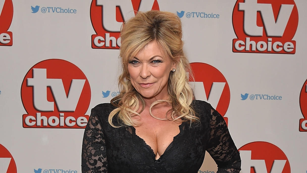 Claire King is currently in the midst of her second stint as Kim Tate in 'Emmerdale'. (David M. Benett/Getty Images)
