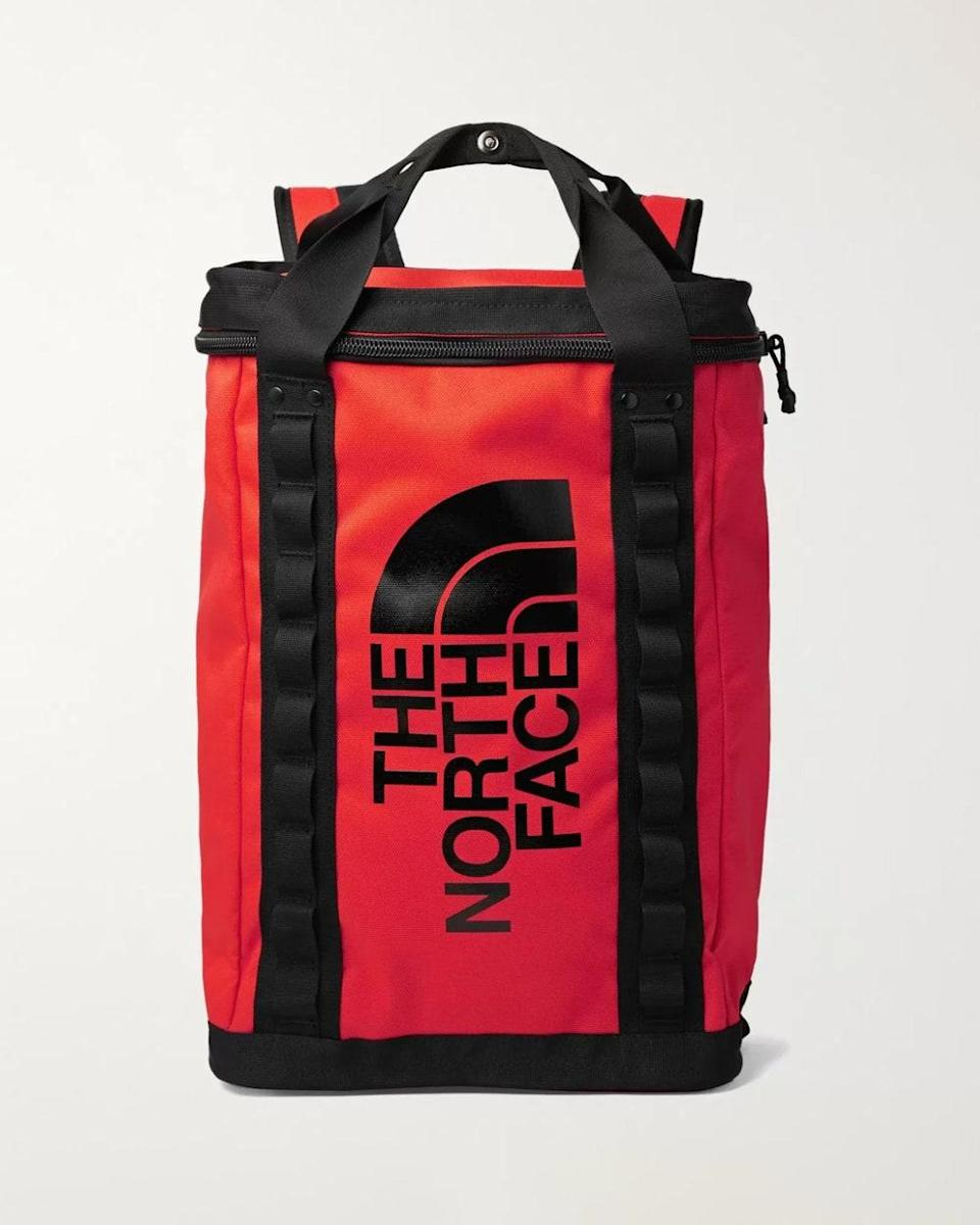 """""""Known for their quality and durability, The North Face never lets you down. This canvas backpack is large enough to fit all your essentials and cool enough to take anywhere."""" - <em>MP</em> $140, Mr. Porter. <a href=""""https://www.mrporter.com/en-us/mens/product/the-north-face/sport/outdoor-accessories/fusebox-logo-print-canvas-backpack/10516758728240598"""" rel=""""nofollow noopener"""" target=""""_blank"""" data-ylk=""""slk:Get it now!"""" class=""""link rapid-noclick-resp"""">Get it now!</a>"""