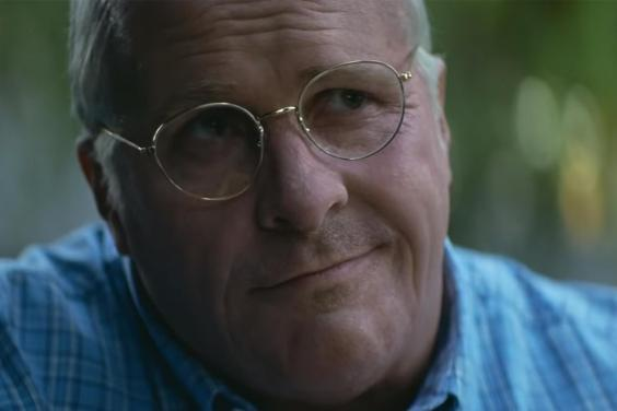 An unrecognisable Christian Bale stars as Dick Cheney in Adam McKay's new film Vice (Annapurna Pictures)