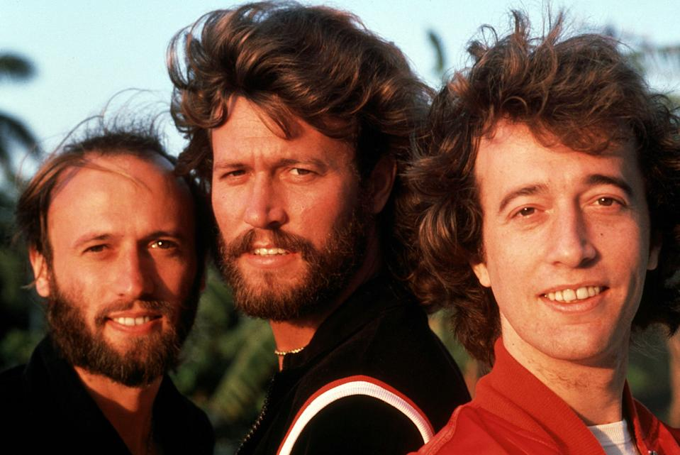 Barry, Robin and Maurice Gibb, The Bee Gees.
