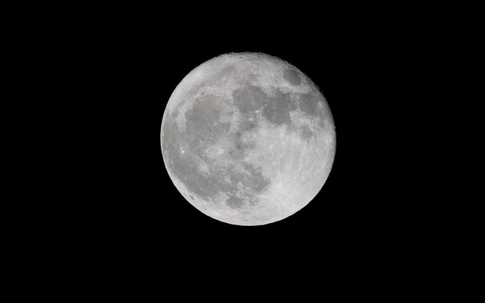 File image of the Moon, which China plans to visit