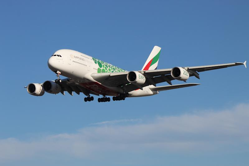 Rare sight? Airbus A380s are being replaced by Boeing 777 jets at some UK airports this winter (Matt Carter)