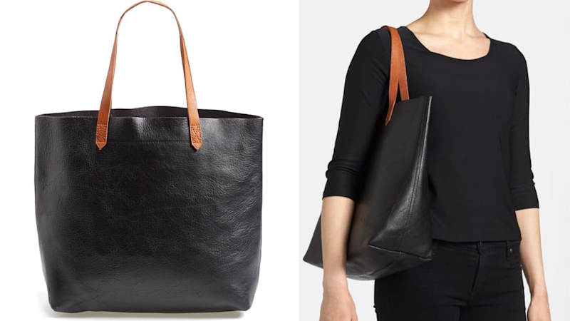 Best gifts for mom 2019: Madewell 'The Transport' Leather Tote