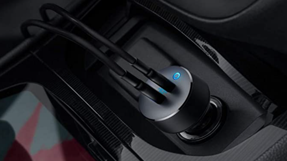 When there's no outlet in sight, use your car charger to keep your smartphones charged up.