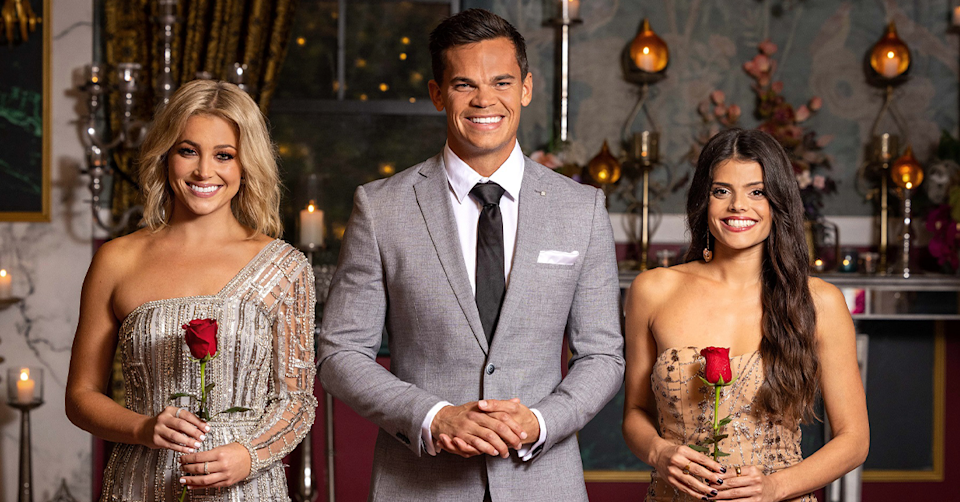 Bachelor jimmy and his final two holly and brooke