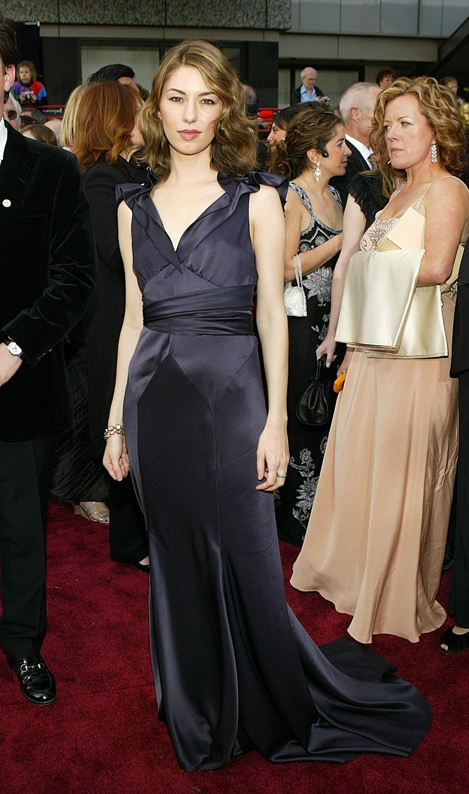 <p>The filmmaker supported her longtime friend Marc Jacobs when she chose one of his dresses for the red carpet.</p>