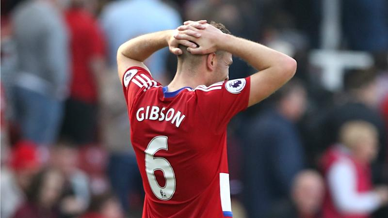 Gibson open to Premier League move after Boro's relegation