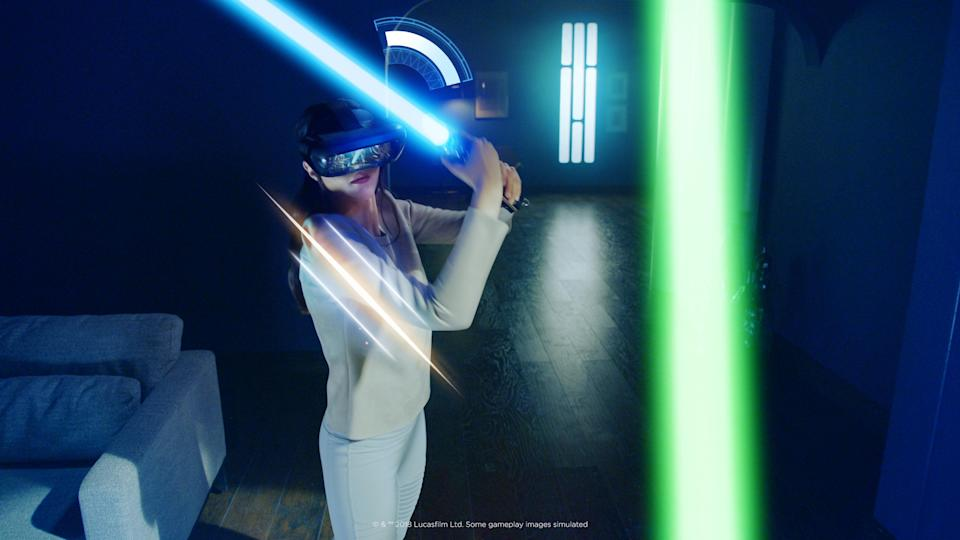 'Star Wars Jedi Challenge' will now let you battle your friends in lightsaber duels.