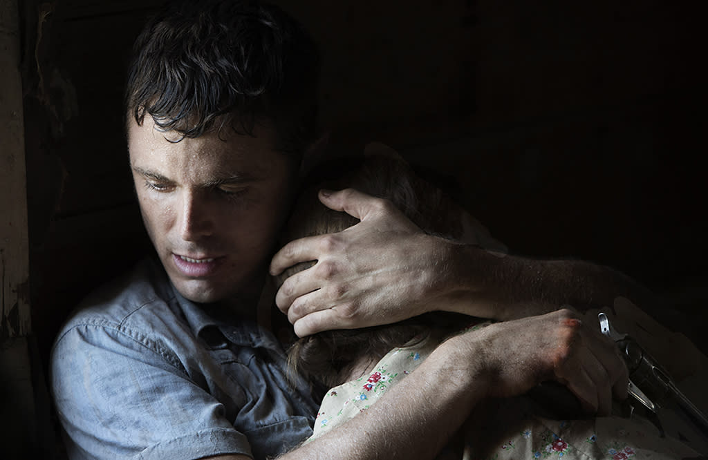 """Rooney Mara and Casey Affleck in IFC Films' """"Ain't Them Bodies Saints"""" - 2013"""