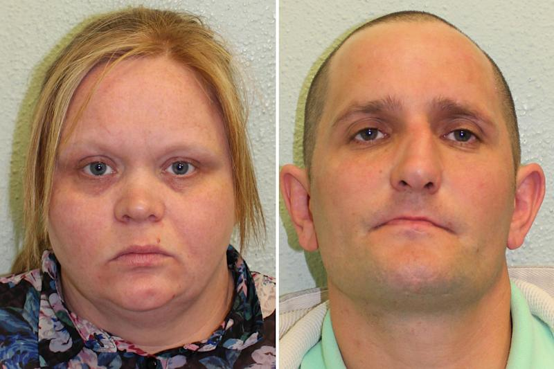 Convicted: Paul Anderson and Joanna Farrer: Metropolitan Police