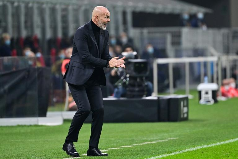 AC Milan coach Stefano Pioli is in quarantine after testing positive for Covid-19