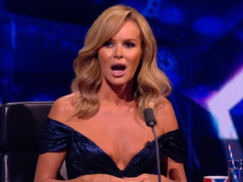 Amanda Holden hits back at complaints about her cleavage on BGT (ITV/BGT)