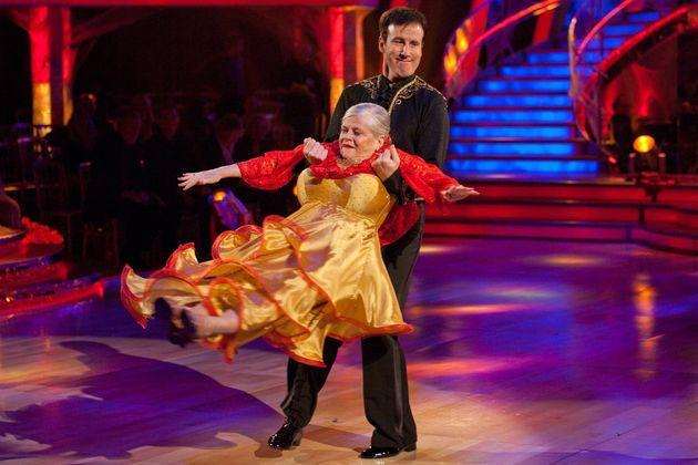 Anton Du Beke and Ann Widdecombe on Strictly Come Dancing in 2010 (Photo: BBC)