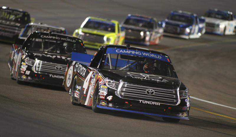 Christopher Bell wins truck title as Chase Briscoe wins race