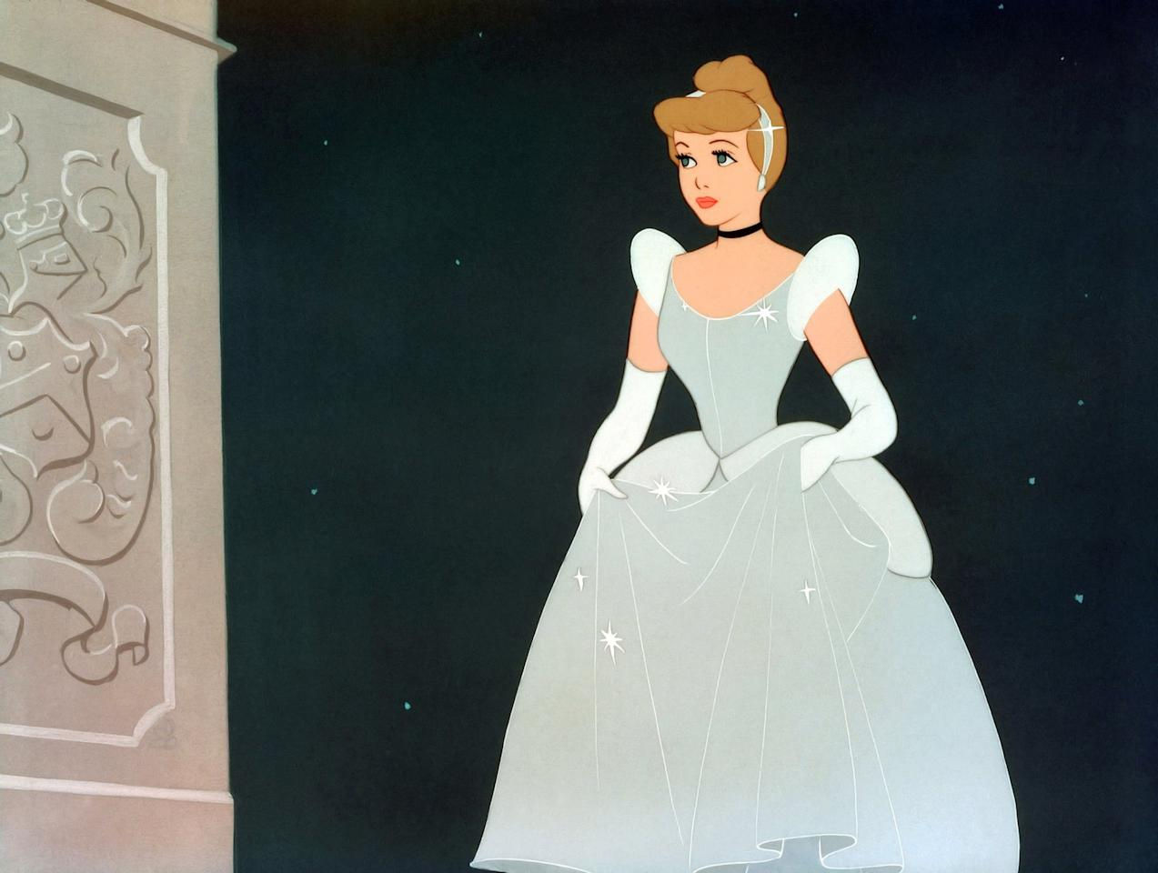 <p>Cinderella is from the 1950 film <strong>Cinderella</strong>.</p>