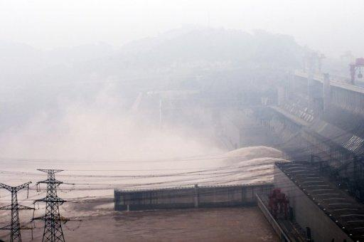 The dam first went into operation in 2003 at a cost of $22.5 billion