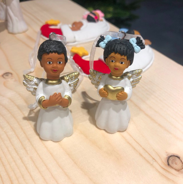 Natalie and Alison have been thrilled with the response to their ornaments [Photo: March Muses]